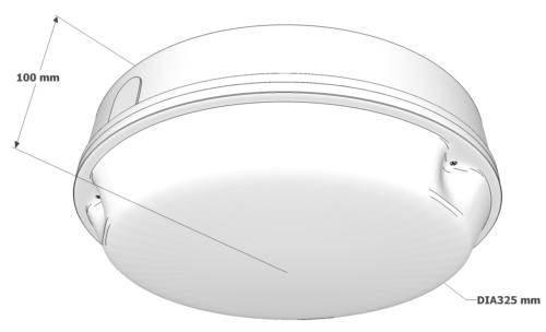 X-ER3M Dimensions