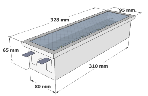 X-FM3M dimensions