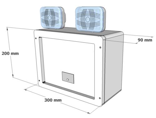X-TSA Dimensions