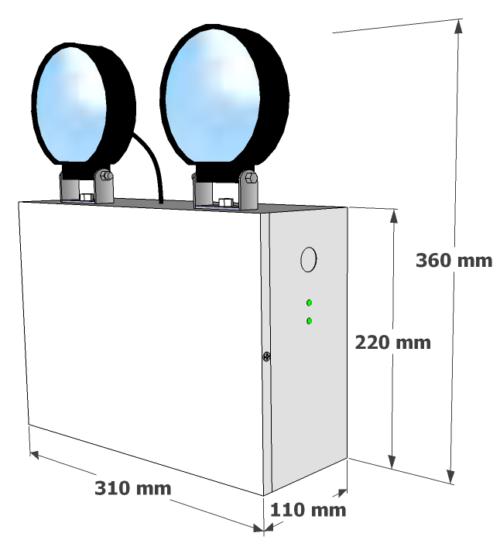 X-TSL Dimensions