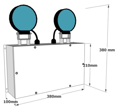 X-TSWS Dimensions