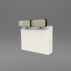 2 x 10 Watt LED Emergency Twinspot